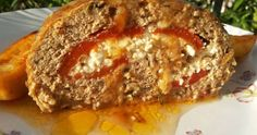 Greek Recipes, Meat Recipes, Cooking Recipes, Mince Meat, Other Recipes, Creative Food, Meatloaf, Food Network Recipes, Feta