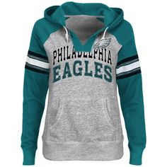 Do you have standout #Eagles style? Show it off in the Women's Huddle Hoodie Sweatshirt $54.99