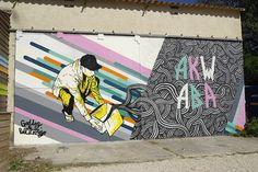 Graffiti Interview with GoddoG. Urban Street Art, Graffiti Art, Yorkie, Pop Art, Appreciation, Interview, Dogs, Fresco, Art Pop