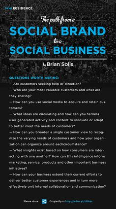 Brian Solis on Social Brand to Social Business by (mt) Media Temple, via Flickr #entornos