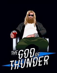 Avengers: Endgame Thor is an interesting mix of MCU Thor and Norse Myth Thor. (Thor - The God of Thunder, Avengers: End Game - - Ms Marvel, Marvel Comics, Archie Comics, Marvel Funny, Marvel Heroes, Marvel Characters, Captain Marvel, Captain America, The Avengers