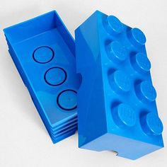 LEGO Brick Shaped Storage Container...cute for a kids room!