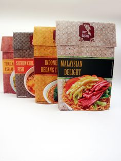 Mee Dayang - instant noodle packaging design by Elroy Chong, via Behance