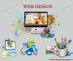 #Website Design & #Development services! Web design company India, cheap SEO packages, provides creative customized web designs to all business sectors for matching their needs and targeting audience expectations. http://cheapseopackages.in/web-designing-company-india/