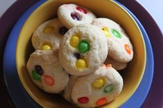 Not even sure how this came up in conversation with one of my classes, but suddenly we decided that Skittles should be in cookies.  Well, look what I found!