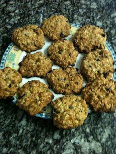 Low Fat Oatmeal cookies