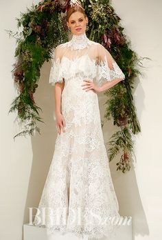 Fall 2017 Wedding Dress Trends | Brides  Wedding dress by Watters