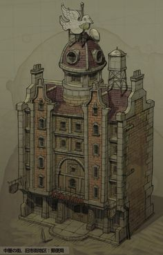 Building Design - Characters & Art - Gravity Rush
