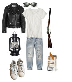 """""""Deacon"""" by alyssaperez1994 ❤ liked on Polyvore featuring art, Deacon, Fallout4 and FO4"""