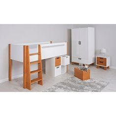 George Home Alfie Mid Sleeper Bed - Two Tone | Beds | George at ASDA