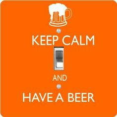 """Rikki KnightTM Keep Calm and have a Beer Orange Color - Single Toggle Light Switch Cover by Rikki Knight. $13.99. The Keep Calm and have a Beer Orange Color single toggle light switch cover is made of commercial vibrant quality masonite Hardboard that is cut into 5"""" Square with 1'8"""" thick material. The Beautiful Art Photo Reproduction is printed directly into the switch plate and not decoupaged which make these Light Switch Plates suitable for use in any room in the o..."""