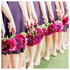 burgandy dahlias and red rose bouquet | ... burgundy dahlias accented chairs, while the aisle was bordered with