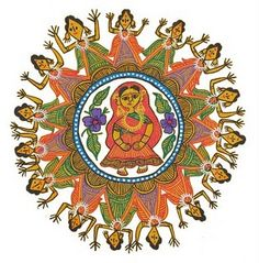 Mithila Arts - Nepali Art - We All Nepali