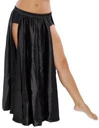 Satin Panel Circle Skirt for Belly Dancing in Black- Enchantress Belly Dance Skirt, Belly Dance Outfit, Tribal Belly Dance, Belly Dancer Costumes, Belly Dancers, Dance Costumes, Party Costumes, Dance Pants, Dance Shirts