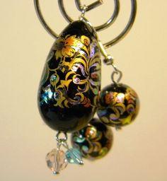 Beautiful Japanese Tensha Bead Pendant by PrayerfullyMade4You, $29.99