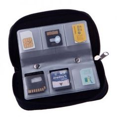 22 Slots Case Pouch Holder for Memory Card Sd Card.memory Card Carrying Case Memory Card Holder Pack) - Computer and Accessories Lists Products Photo Accessories, Laptop Accessories, Sd Card, Card Case, Camera Cards, Card Organizer, Card Storage, Best Memories, Nikon