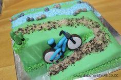 mountain bike cake
