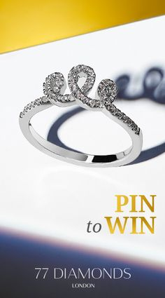 Enter our #Competition to be in with the chance to win a #diamond ring! #Pin2Win
