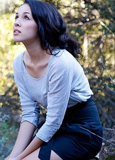 Kina Grannis. Voted 2011's best web born artist. Claim to fame: YouTube/Doritos Crash the Superbowl Contest in 2005. I'm a long time fan... Props to indie status!