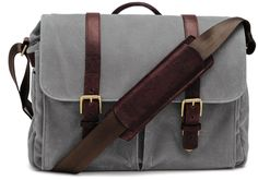 ONA Brixton Messenger Bag (Updated 2015) - Smoke ** You can find out more details at the link of the image. (This is an Amazon Affiliate link and I receive a commission for the sales)