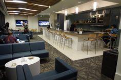 Alaska Lounge Seattle N Terminal  #AirportLounge #AlaskaAir #AlaskaLounge #Luxury #PriorityPass #Travel #TravelBlogger