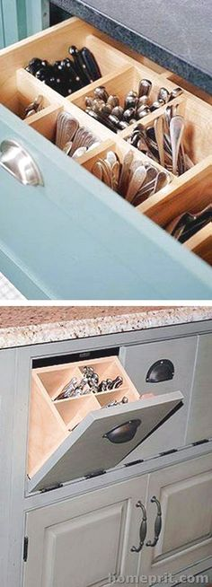 All Time Best Unique Ideas: Small Kitchen Remodel Vintage kitchen remodel before and after hardware.Split Level Kitchen Remodel Layout small kitchen remodel eat in. Smart Kitchen, Kitchen Redo, Kitchen Pantry, Pantry Cabinets, Kitchen Drawers, Kitchen Small, Kitchen Backsplash, Kitchen Modern, Clever Kitchen Storage