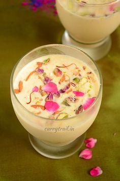 Thandai Recipe | Spiced Almond Milk - Holi Special