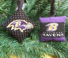 Baltimore Ravens Ornament Your Choice of by yellowroseaccents, $6.95