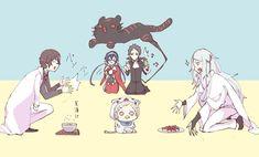 "Poor Atsushi is just like, "". Dazai Bungou Stray Dogs, Stray Dogs Anime, Bungou Stray Dogs Atsushi, Dog Memes, Funny Dogs, Anime Art, Fandom, Kawaii, Fan Art"