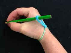 Low Tech Assistive Technology:  MacGyver Inspired by OT Mommy on the Handwriting is Fun! Blog