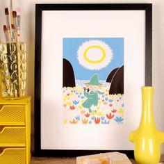Image of Moomin Print - Snufkin.