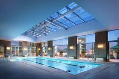 Skylit pool in one of the tallest buildings in NYC Contact your #RealEstate Expert Jessica Eve Morgan