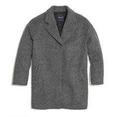 Brushed Oversized Coat