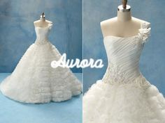 Disney Princess wedding dresses...LOVE