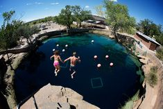 The Blue Hole in Santa Rosa NM. Its freezing and beautiful!!!!