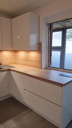 Modern Kitchen Interiors, Luxury Kitchen Design, Kitchen Room Design, Interior Design Kitchen, Kitchen Cabinets Modern Design, Modern Ikea Kitchens, Minimal Kitchen Design, Modern Kitchen Furniture, Modern Grey Kitchen