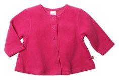 Zutano Baby Cozie Swing Jacket Fuchsia