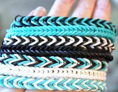 Rainbow Elastic Band Bracelets