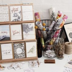 Discover thousands of images about Market stall setup! Craft Stall Display, Market Stall Display, Craft Fair Displays, Market Displays, Market Stalls, Display Ideas, Booth Ideas, Card Displays, Craft Stalls