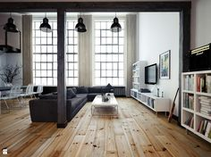 Salon styl Minimalistyczny - zdjęcie od OFD architects - Salon - Styl Minimalistyczny - OFD architects