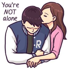 70 Trendy Ideas for wallpaper art illustration couple Love Cartoon Couple, Cute Couple Comics, Cute Love Cartoons, Anime Love Couple, Cute Anime Couples, Cute Love Pictures, Cute Love Gif, Cute Love Quotes, Romantic Love Quotes