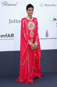 Giovanna Battaglia at the 2013 Cannes Film Festival (more of the most memorable Cannes red carpet looks today on chicityfashion.com)