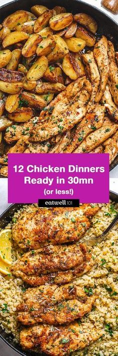Chicken Dinner: 12 Easy Chicken Recipes Ready In 30-Minute or Less — Eatwell101