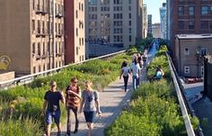 The High Line Park in Manhattan. Click image for complete story and visit the slowottawa.ca boards >> http://www.pinterest.com/slowottawa