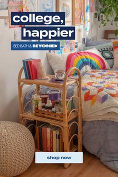 Bedroom Inspo, Bedroom Decor, Dorm Necessities, Barn Bedrooms, Stylish Bedroom, Pink Room, College Dorm Rooms, New Room, Apartment Living