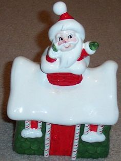 Vintage Lefton Japan Ceramic Christmas Cookie Jar - Santa in Chimney of House Lefton,http://www.amazon.com/dp/B00H687C1O/ref=cm_sw_r_pi_dp_5jnftb01SSG6G0E6