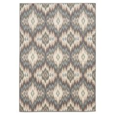 You should see this Beacon Abstract Ivory & Blue Rug on Daily Sales!