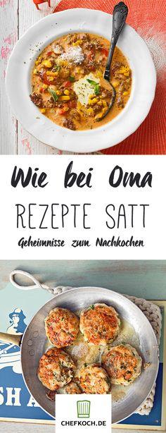 Rezepte von Oma: Bei keiner schmeckt es so gut