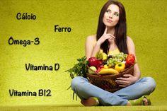 Saiba quais os nutrientes essenciais para vegetarianos