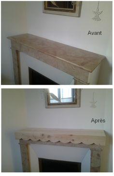 relooking de chemin e sur pinterest chemin es en briques chemin es et chemin e en brique. Black Bedroom Furniture Sets. Home Design Ideas